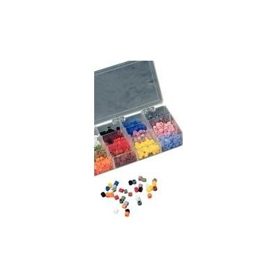 Silitone Color Bands - Assorted, 480/Pkg