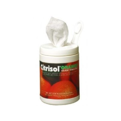 Towelettes Orange Solvent