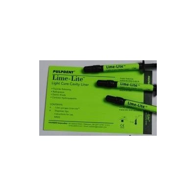 Lime-Lite Light Cure Cavity Liner – Refill (3 ml)