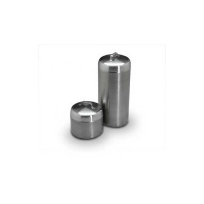Ointment Jar W/Cover Stainless