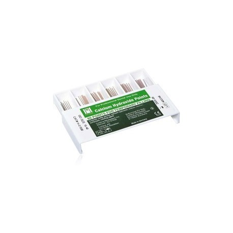 Hygenic Calcium Hydroxide Points - ISO Sized, Assorted, 60/Pkg