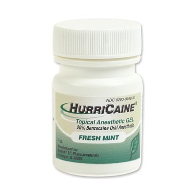 Hurricane Gel Mint 1Oz