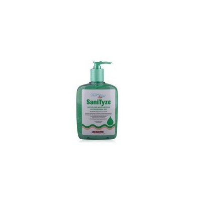 SaniTyze® Waterless Moisturizing Antimicrobial Gel Hand Sanitizer – 18 oz Pump Bottle