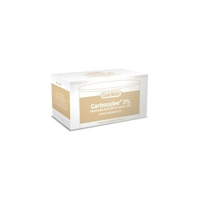 Cook Waite Mepivacaine HCl 3% Plain Tan 50/Bx