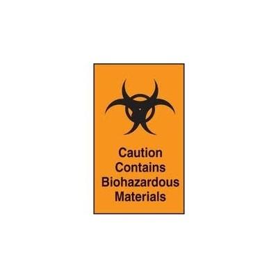 Label Biohazard Material (25)