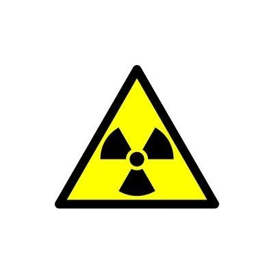Label Radiation Warning (5)