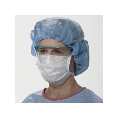 Face Mask Tie-On Blue 50/Bx