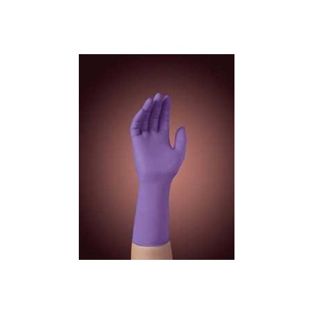 Glove Small Purple Nitrile Pf