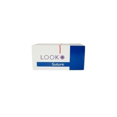 LOOK™ Chromic Gut Sutures - Absorbable, C3, Precision Reverse Cutting, 3/8 Circle, 12/Box