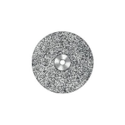 Superflex Mounted Diamond Discs - 927S-220, 0.19 mm Thickness, 22.0 mm Diameter, Wraparound, Double-Sided, Fine Grit, 1/Pkg