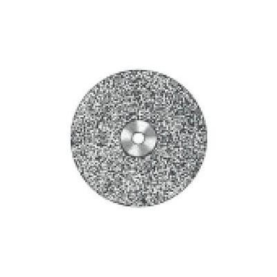 Superflex Mounted Diamond Discs - 927S-220, 0.19 mm Thickness, 22.0 mm Diameter, Wraparound, Double-Sided, Fine Grit, 1/Pkg