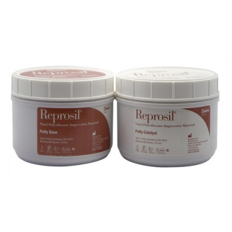 Reprosil Hydrophilic Vinyl Polysiloxane Impression Material – Putty Economy Refill Package