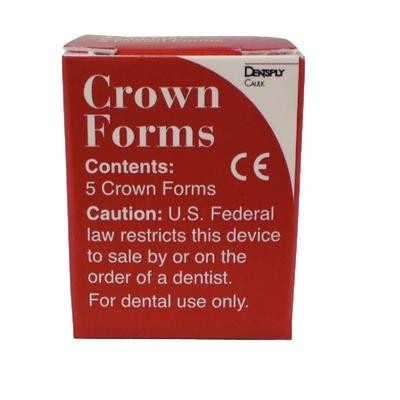 Crown Form Refill - Clear, Celluloid, 5/Pkg