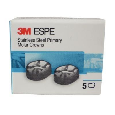 Stainless Steel Primary Molar Crowns - Refills, 5/Pkg