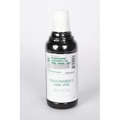 Chlorhexidine Rinse 12% 16oz