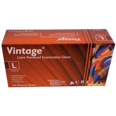 Glove Large Aurelia Vintage Light Powder