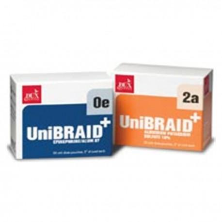 Unibraid w/ Epinephrine Aluminum 87 2E No.2 Medium 50 Bx