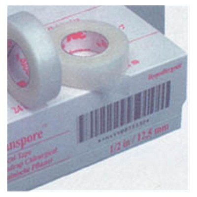 Transpore Surgical Tape 2 x 10 Yd 6 Bx