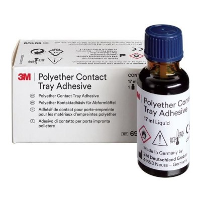 3M Tray Adhesive Contact 17 mL Bottle Ea