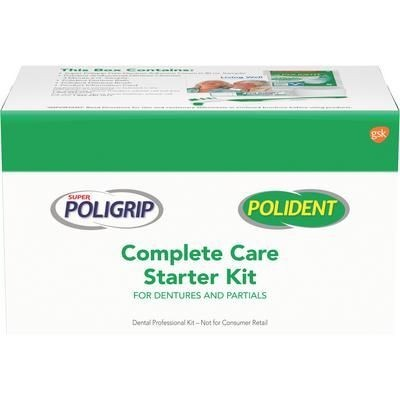 Policare Complete Care Kit for Dentures and Partials