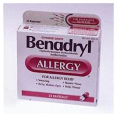 Benadryl Allergy Ultratabs 25mg 60x2/Bx