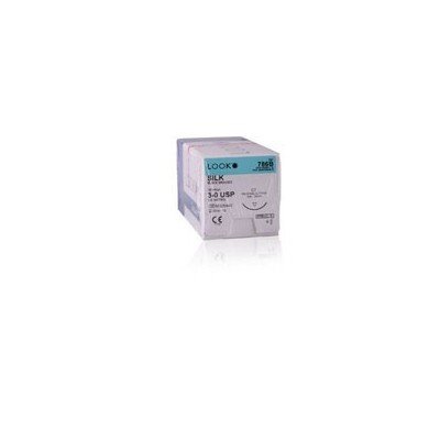 Suture 3/0 Silk D-62 (7762G)