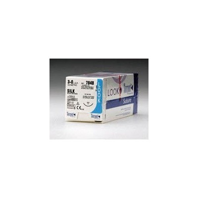 Suture 3/0 Silk D-64 (632G)